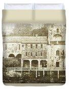 Talking Walls Duvet Cover by Andrew Paranavitana