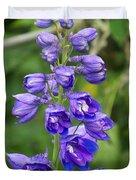 Tall Garden Beauty Duvet Cover by Eunice Miller