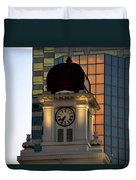 Tampa City Hall 1915 Duvet Cover by David Lee Thompson