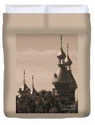 Tampa Minarets  Duvet Cover by Carol Groenen