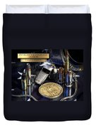 Tampa Police St Michael Duvet Cover by Gary Yost