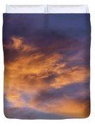 Tangerine Swirl Duvet Cover by Caitlyn  Grasso