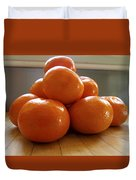 Tangerined Duvet Cover by Joe Schofield