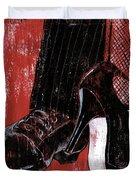 Tango Duvet Cover by Debbie DeWitt