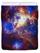 Tarantula Nebula 2 Duvet Cover by The  Vault - Jennifer Rondinelli Reilly