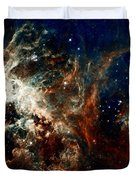Tarantula Nebula Duvet Cover by Amanda Struz
