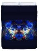 Tarantula Nebula Reflection Duvet Cover by The  Vault - Jennifer Rondinelli Reilly