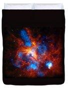 Tarantula Nebula Duvet Cover by The  Vault - Jennifer Rondinelli Reilly