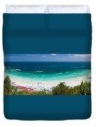 Tawaen Beach Duvet Cover by Atiketta Sangasaeng