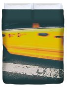Taxi Taxi Duvet Cover by Karol Livote