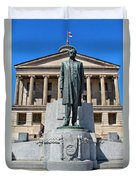 Tennessee Capitol Duvet Cover by Dan Sproul