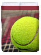 Tennis Anyone... Duvet Cover by Kaye Menner