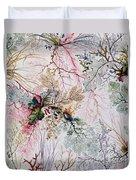 Textile Design Duvet Cover by William Kilburn