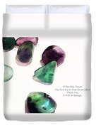 Thank You - Gratitude Rocks By Sharon Cummings Duvet Cover by Sharon Cummings