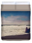 That Dirty Game Recaptures Me Duvet Cover by Laurie Search