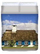 Thatched Country House Duvet Cover by Heiko Koehrer-Wagner
