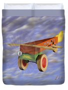 The 356th Toy Plane Squadron 2 Duvet Cover by Mike McGlothlen