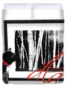 The Capture Duvet Cover by Diana Angstadt