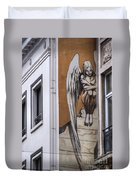 The Angel Duvet Cover by Juli Scalzi