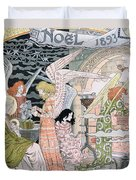 The Angels Kitchen Duvet Cover by Eugene Grasset