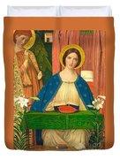 The Annunciation Duvet Cover by Arthur Joseph Gaskin