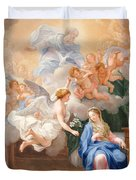 The Annunciation Duvet Cover by Giovanni Odazzi