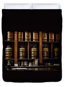 The Apothecary Duvet Cover by Heather Applegate