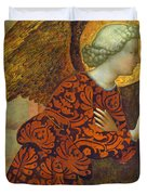 The Archangel Gabriel Duvet Cover by Tommaso Masolino da Panicale