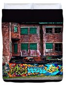 The Art Of The Streets Duvet Cover by Karol Livote