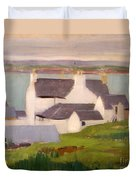 The Artists Studio Iona Duvet Cover by Francis Campbell Boileau Cadell