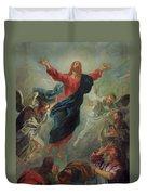 The Ascension Duvet Cover by Jean Francois de Troy