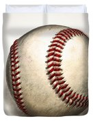 The Baseball Duvet Cover by Bill Cannon