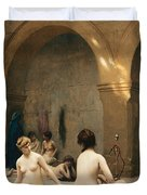 The Bathers Duvet Cover by Jean Leon Gerome