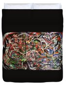 The Beheading Of Creative Impulse Part 2 Duvet Cover by Michael Kulick