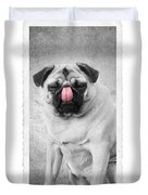 The Big Lick Duvet Cover by Edward Fielding