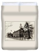 The Birthplace Of Freedom Duvet Cover by Bill Cannon