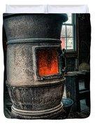 The blacksmiths furnace - Industrial Duvet Cover by Gary Heller