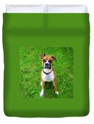 The Boxer Duvet Cover by Donna Doherty