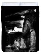 The Bridge Duvet Cover by Erik Brede
