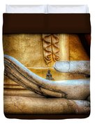 The Buddhas Hand Duvet Cover by Adrian Evans
