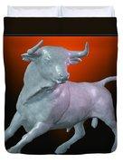 The Bull... Duvet Cover by Tim Fillingim