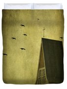 The Calling Duvet Cover by Evelina Kremsdorf