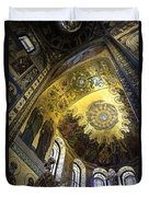 The Church Of Our Savior On Spilled Blood 2 - St. Petersburg - Russia Duvet Cover by Madeline Ellis