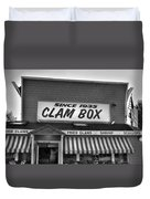The Clam Box Duvet Cover by Joann Vitali