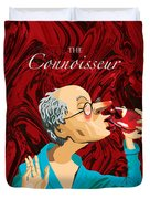 The Connoisseur Duvet Cover by Johnny Trippick