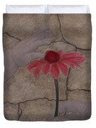 The Creation Of Eve Duvet Cover by Barbara St Jean
