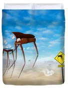 The Crossing 2 Duvet Cover by Mike McGlothlen