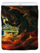The Devil's Lair Duvet Cover by Murphy Elliott