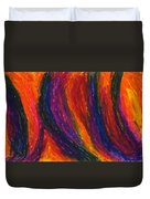The Divine Fire Duvet Cover by Daina White