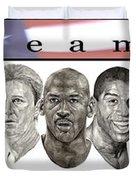 the Dream Team Duvet Cover by Tamir Barkan